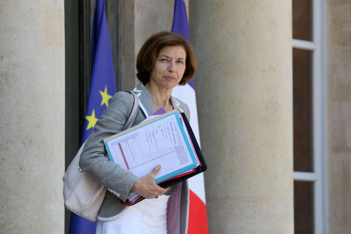 La ministre de la défense, Florence Parly, au palais de l'Elysée, le 6 juillet.