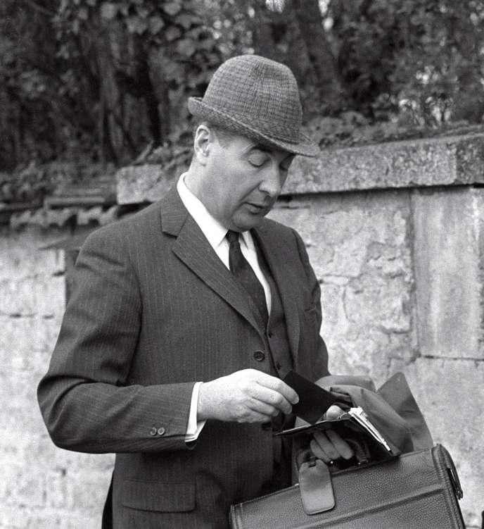 François Flohic, en 1969, à Colombey-les-Deux-Eglises (Haute-Marne).