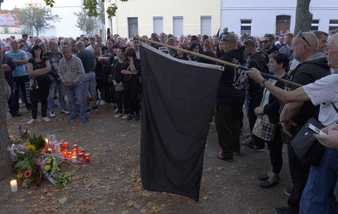 Une manifestation a été organisée à Köthen, dimanche 9 septembre.