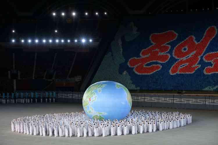 Les« Jeux géants» sont l'autre nom du festival Arirang, né en 2002 de la volonté du chef de l'Etat d'alors, Kim Jong-il.