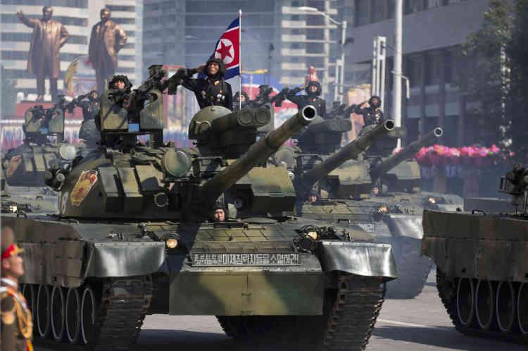 Dans Pyongyang, le 9 septembre.