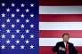 Donald Trump lors d'une levée de fonds dans le Dakota du Nord, le 7 septembre.
