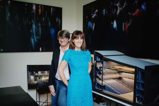 Mélanie et Frédéric Biessy, les nouveaux propriétaires de La Scala à Paris qui rouvrira ses portes le 11 septembre.