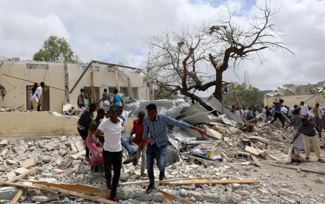 Le 10 septembre à Mogadiscio.