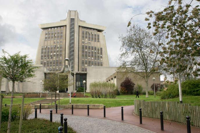 Vue du tribunal de grande instance de Créteil, en 2005.