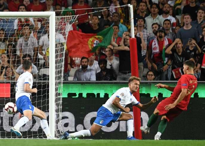 André Silva a marqué pour le Portugal.