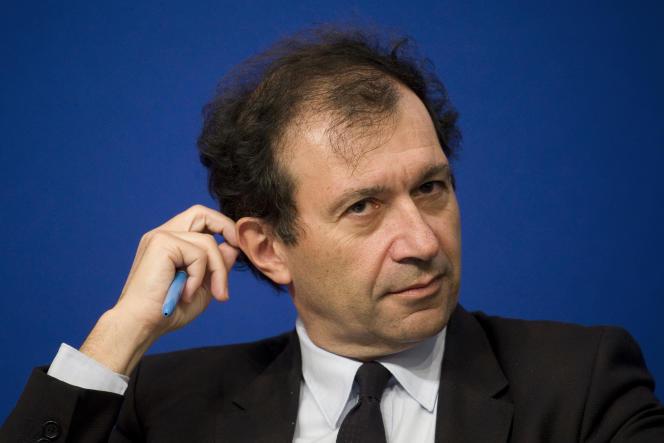 L'économisteDaniel Cohen, le 23 janvier 2015 à Paris.