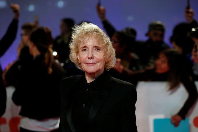 Claire Denis, lors de la première de son long métrage « High Life» sélectionné au Festival international du film de Toronto, le 9 septembre 2018.