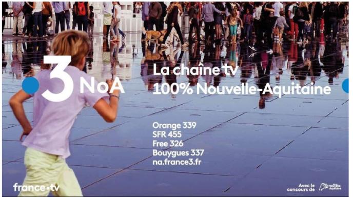 NoA, comme Nouvelle-Aquitaine, soutenue par le conseil régional, est lancée, mardi 11septembre, à destination des six millions d'habitants de cette collectivité née en2016 de la fusion de l'Aquitaine, du Limousin et du Poitou-Charentes.