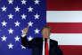 Le président américain, Donald Trump, le 7 septembre, à Fargo, dans le Dakota du Nord.