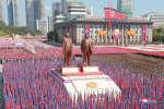 La Corée du Nord a célébré ses 70 ans lors d'un défilé militaire dans les rues de Pyongyang, le 10 septembre 2018.