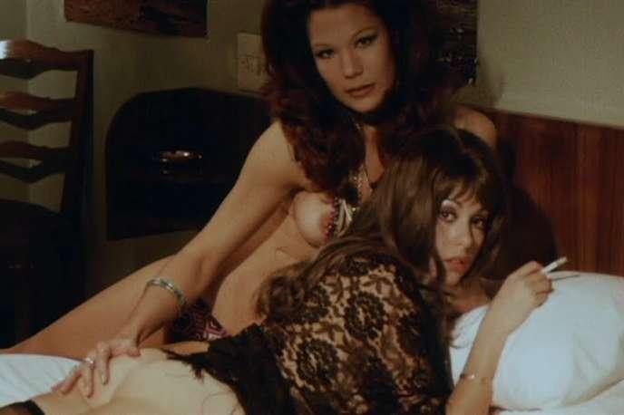 Montserrat Prous dans« Le Journal intime d'une nymphomane» (1971), de Jess Franco.