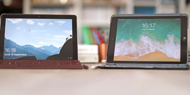 surface go ipad 2018 ios windows duel