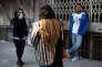 Dans la rue Berlin, à Téhéran, l'artère où se retrouvent les jeunes rebelles de la capitale iranienne.