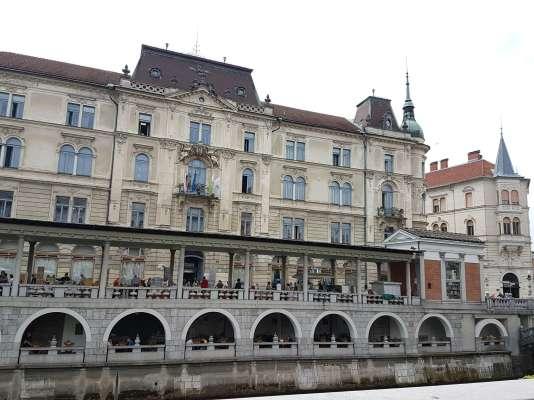 Le restaurant Ribca à Ljubljana.