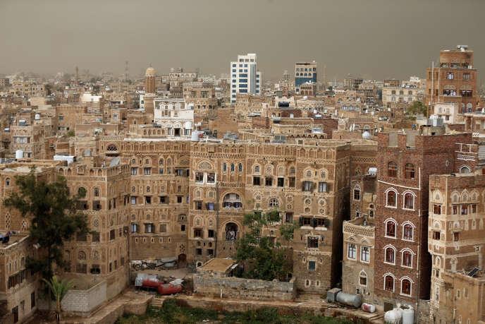 A Sanaa, au Yémen.