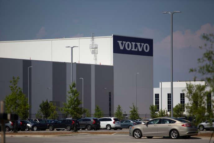 Usine Volvo de Ridgeville, en Caroline du Sud, le 20 juin 2018.