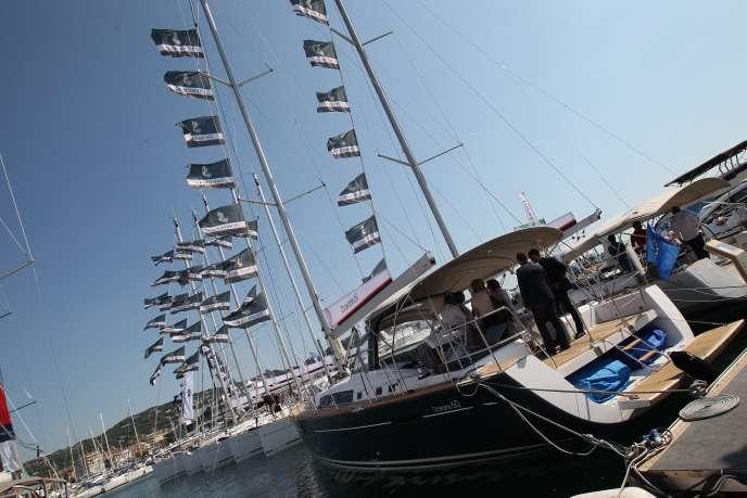 Lors du Cannes Yachting Festival, en septembre2015.