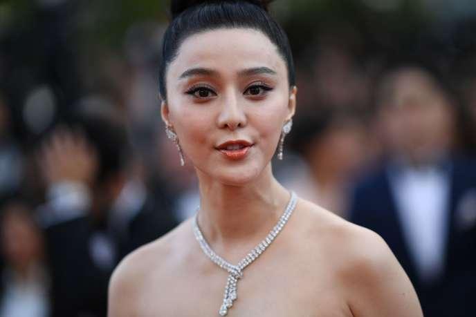 L'actrice, chanteuse et productrice Fan Bingbing au Festival de Cannes, le 8 mai.