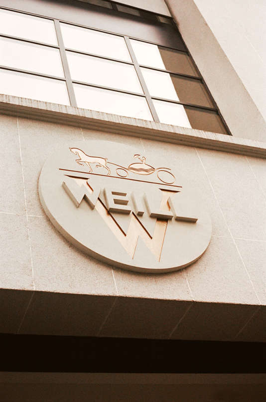 Le logo de la maison Weill, inchangé depuis les années 1950.
