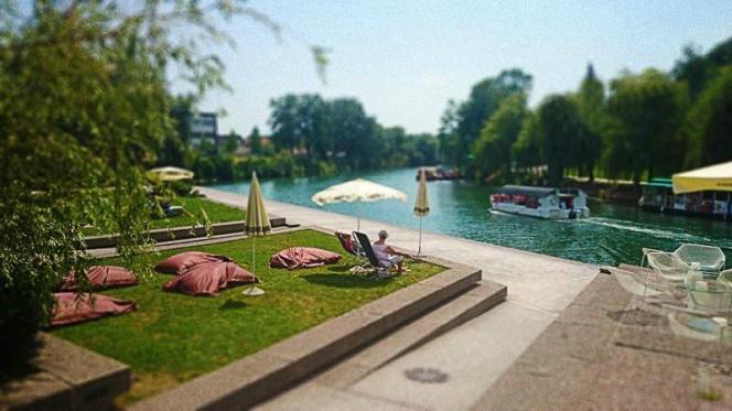 Le parc de la Spica à Ljubljana.