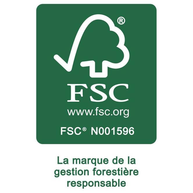 Le logo du label FCS.