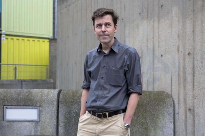 L'écrivain suisse-allemand Peter Stamm, en 2013.