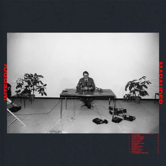 Pochette de l'album «Marauder», d'Interpol.