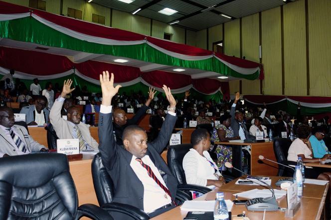 Le Burundi a quitté la CPI, le 27 octobre 2017.
