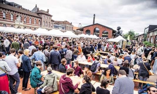 Le 17 septembre s'ouvre la troisième édition du festival Mange, Lille ! au grand marché de producteurs.