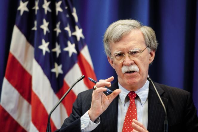 Les déclarations de John Bolton, conseiller à la sécurité national, sur la CPI le 10 septembre.