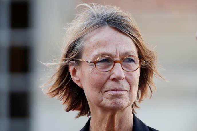 La ministre de la culture, Françoise Nyssen, au château de Versailles, le 12septembre 2018.