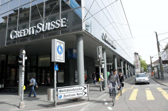 Dans le centre de Bâle, en Suisse, en 2014.