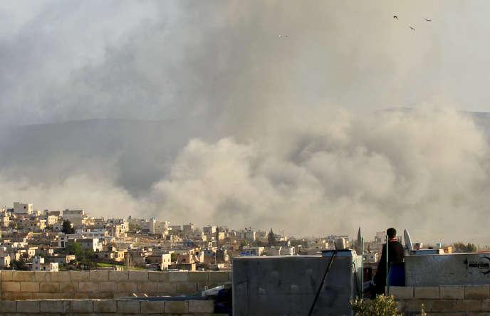 Idlib, au nord de la Syrie, le 8 mars 2015.