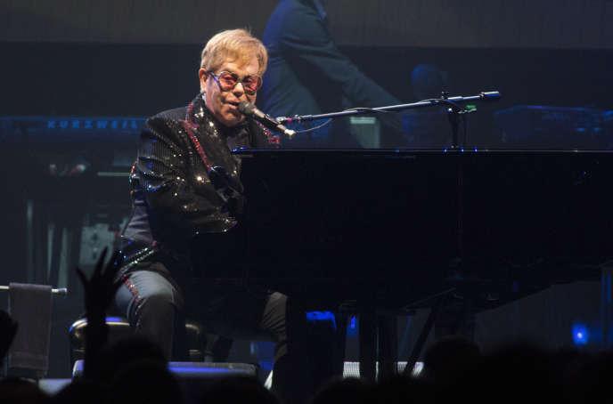 Elton John en concert en Pennsylvanie en septembre.