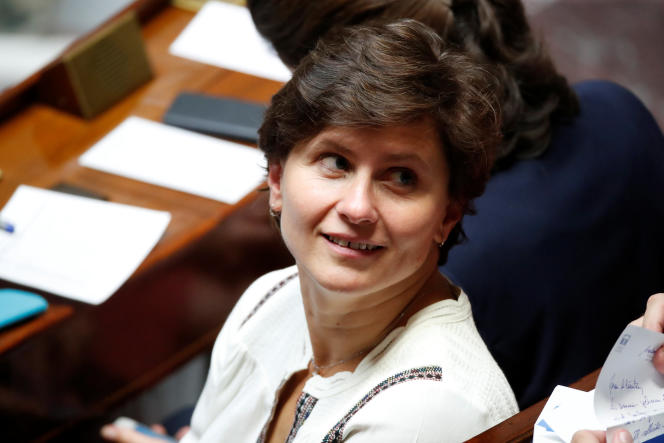 La ministre des sports,Roxana Maracineanu, à l'Assemblée nationale, le 12 septembre 2018.