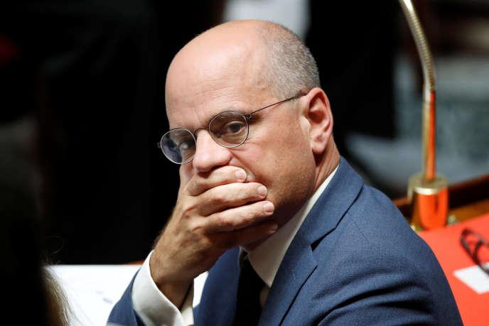 Jean-Michel Blanquer à l'Assemblée nationale, le 12 septembre.