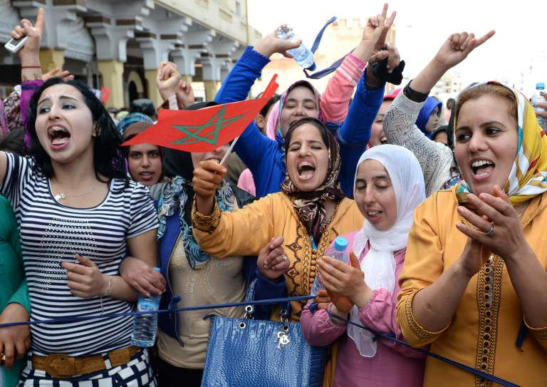 Des Marocaines manifestent pour l'égalité hommes-femmes à Rabat, en mars 2015.