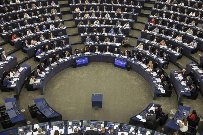 Au Parlement européen, à Strasbourg, le 12 septembre 2018.