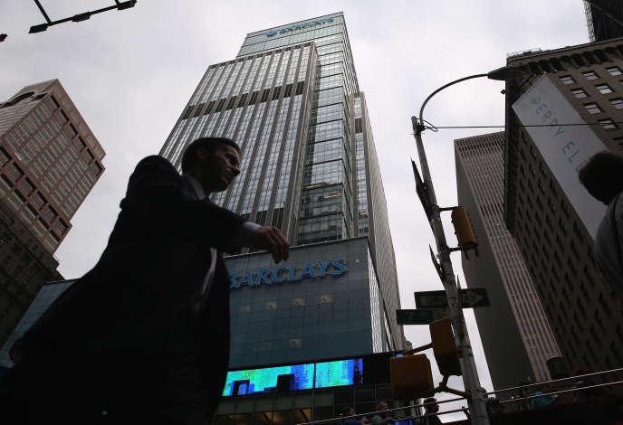L'ancien immeuble de Lehman Brothers, à Manhattan (New York), aujourd'hui occupé par la banque Barclays.