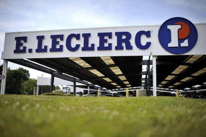 Un supermarché Leclerc, à Landerneau (Finistère), en 2013.