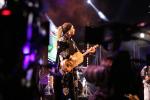 Asma El Hamzaoui lors de la 21e édition du Festival gnaoua et musiques du monde à Essaouira en juin 2018.