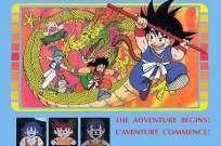 Version française du jeu vidéo«Dragon Ball», adapté du dessin animé et manga du même nom.