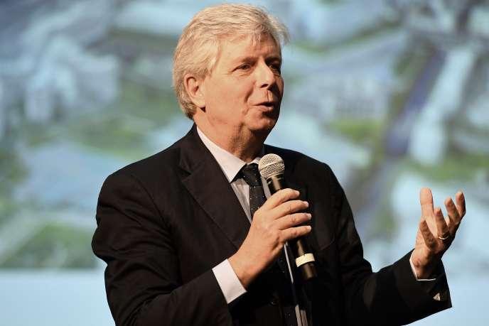 Le directeur de l'Opéra de Paris, Stéphane Lissner, lors d'une conférence de presse à Paris, en octobre 2016.