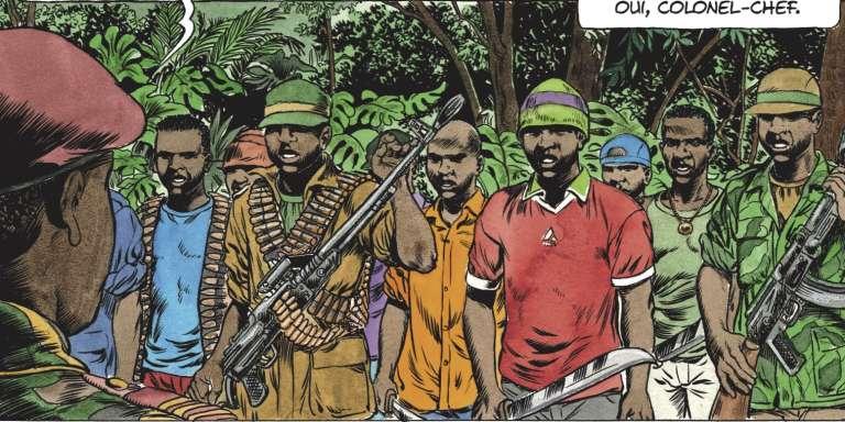 « Kivu», du scénariste Jean Van Hamme et du dessinateur Christophe Simon.