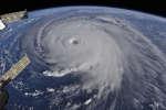 L'ouragan Florence, de catégorie 4, se rapproche des côtes américaines, le 12 septembre 2018.