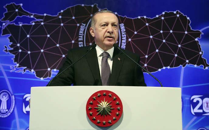 Le président turc Recep Tayyip Erdogan à Ankara, le 13 septembre.