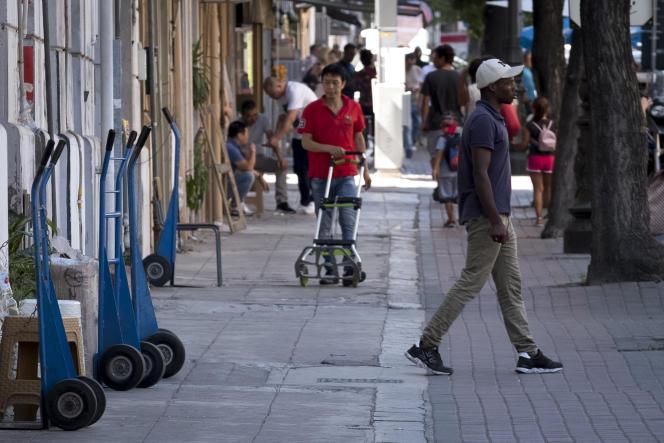 Dans les rues de Palerme, en Italie.
