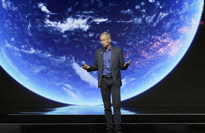 Un représentant de Stockholm lors du forum climat de San Francisco, le 13 septembre.