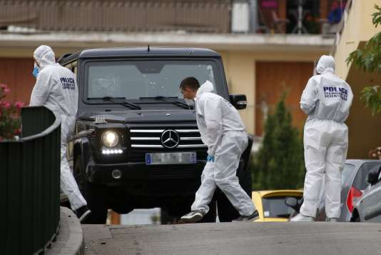 Après une tentative d'assassinat contre Guy Orsoni, dont le véhicule a été criblé de balles, le 13 septembre 2018 à Ajaccio.